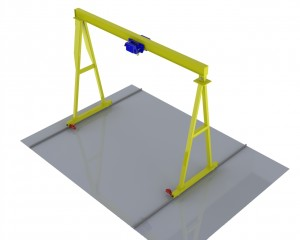 Single Girder Double Leg Gantry