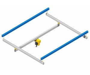 Aluminum Rail Workstation Cranes - AL SYSTEMS™ | EMH, Inc