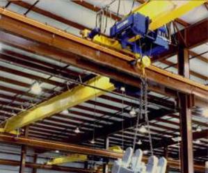 Single Girder Top Running Overhead Cranes | EMH, Inc