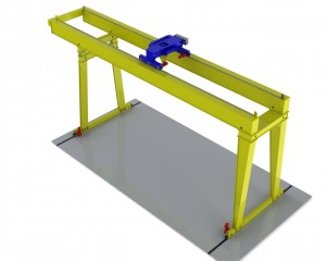 Double Girder Extended Gantry