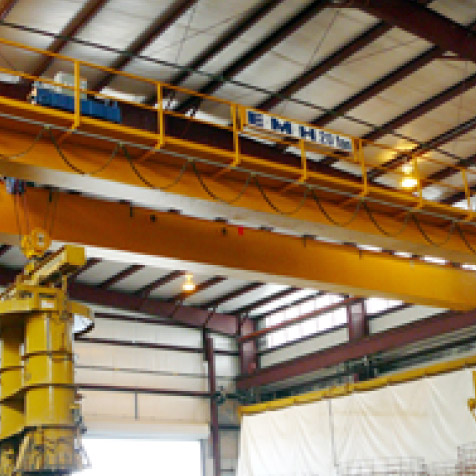 Industries Using EMH Overhead Cranes | EMH, Inc